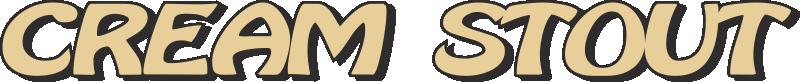Logo cerveza Cream Stout