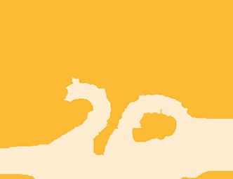 Logo cerveza Antares 20 Años